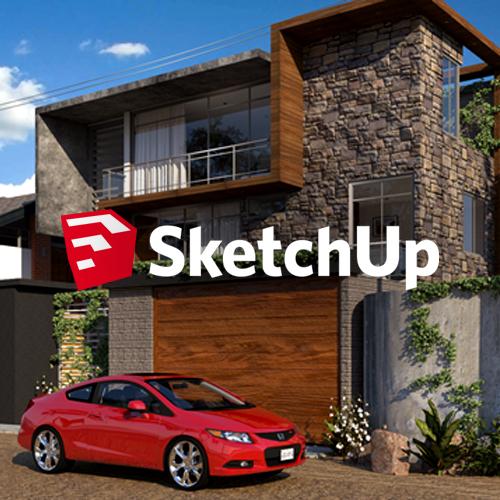 sketchup-relierf-bordeaux-3D